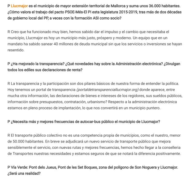 Entrevista Miquel Serra 26_01_2019 Diario de Mallorca. 2