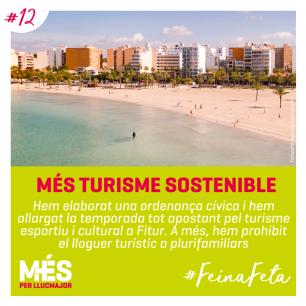 12. MÉS Turisme sostenible