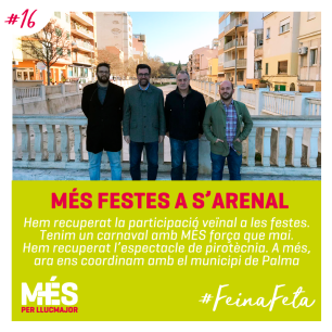 16. MÉS Festes a s'Arenal