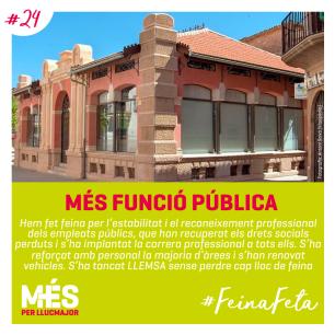 24. MÉS Funció pública