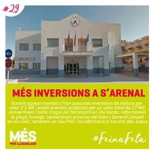 29. MÉS Inversions a s'Arenal