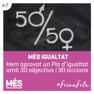 7. MÉS Igualtat